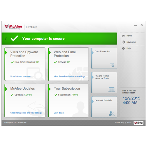 Hipstreet WinWizard Software Suite with Intel® McAfee - Home
