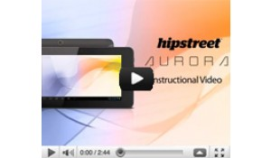 Hipstreet Aurora Tablet Instructional Video