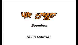 Speakers- HS BoomBox