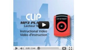 Hipstreet Clip MP3 Player - HS-601 - Video Instructional