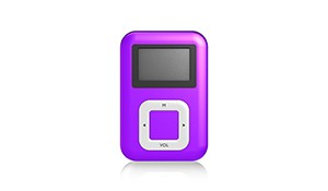 HIPSTREET 4GB CLIP MP3 PLAYER WITH DISPLAY