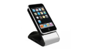 iPhone & iPod Docking Motorized Cinema Speaker  - HS-HUB180-BK
