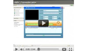 How to convert video using AMV Converter?